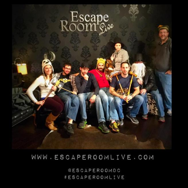 The Escape Room Guys An Enigma Wrapped In A Riddle And Locked In A Room